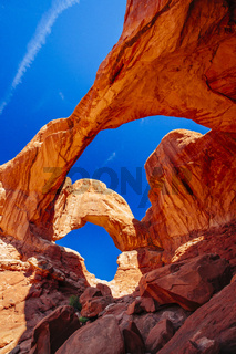 Double Arch in Arches National Park, Utah, USA