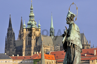 Statue des heiligen Johannes von Nepomuk