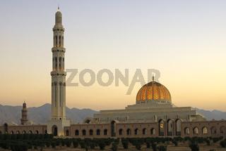 Sultan Qaboos Moschee, Muscat, Sultanat Oman