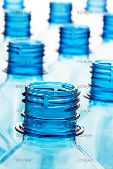 Plastic bottle. Empty plastic bottles