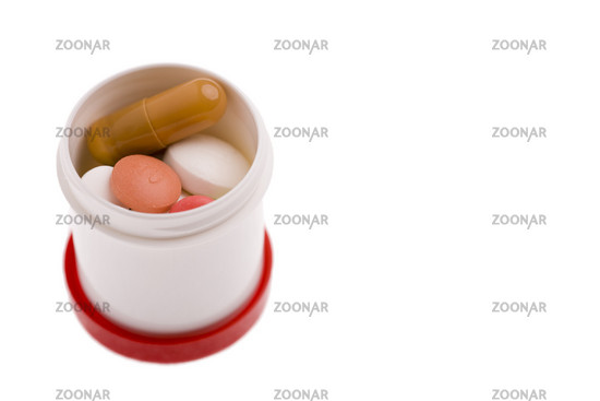 Tagesdosis an Medikamenten