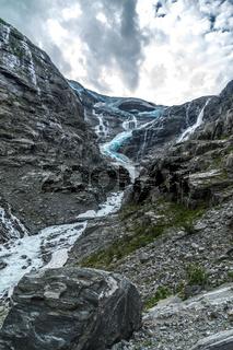 Am Gletscher in Sande