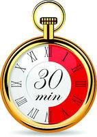 mechanical watch timer 30 minutes
