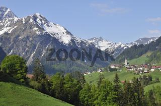 Mittelberg Kleinwalsertal Österreich Austria