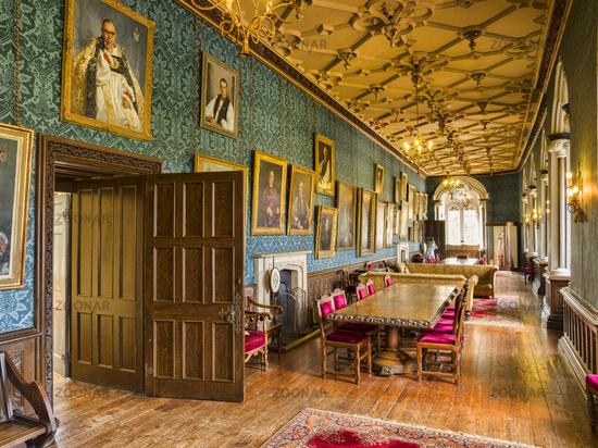 Bishops Palace Interior, Wells Cathedral, Somerset, England, UK