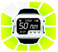 digital watch timer 50 minutes