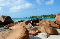 Seyhelles island of Praslin (anse latio)