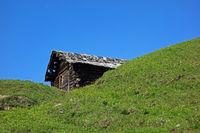Cabin, Alpe di Siusi, South Tyrol, Italy