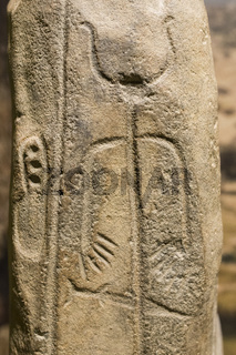 Warrior Stela of Magacela, Badajoz, Spain