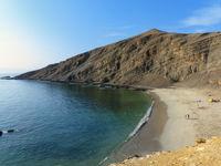 La Mina Beach in Paracas National Reserve, Peru.