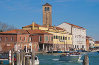 Great channel of Murano Island, Italy