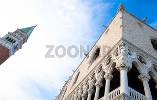 Venice, Italy - Palazzo Ducale detail