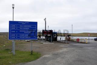 Ferry Terminal Belmont, Unst, Shetland Islands, Scotland