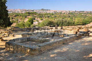Ruins near the Temple of Castor and Pollux