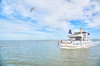Ferry from Norddeich to Norderney Island, Germany