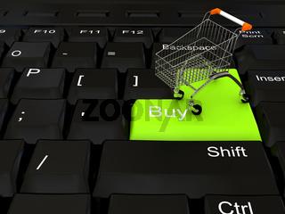 Internet shop concept