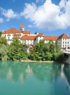 Kloster Sankt Mang am Lech in Fuessen,Bayern,Deutschland