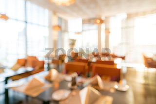 Blurred Restaurant background