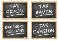 Tax fraud concepts