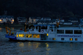 Tankerhavarie an der Loreley