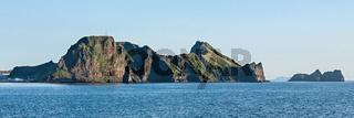 Heimaey island in Iceland