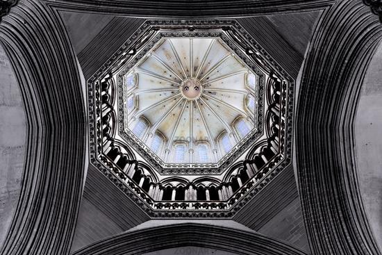 Kathedrale Notre-Dame de Coutances, Normandy, Frankreich