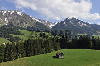 Kleinwalsertal, Österreich, Austria