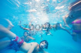 Underwater Fun People