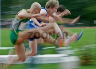 3000m-Hindernislauf Maenner - Typical