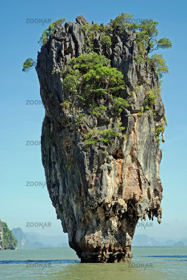 James Bond Felsen, Ao Phang-Nga National Park, Thailand, Asien / James Bond rock, Ao Phang-Nga National park, Thailand, Asia