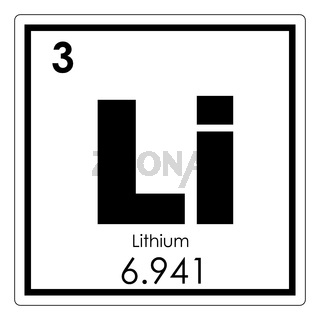 Lithium chemical element