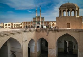 Cityscape of Yazd