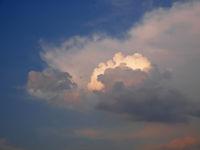 Cloudscape at dusk time
