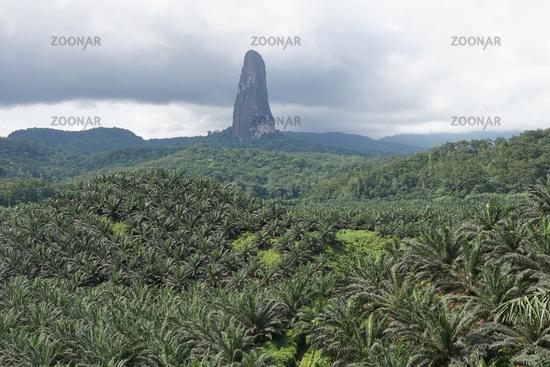 Cao Grande, Sao Tome, Africa