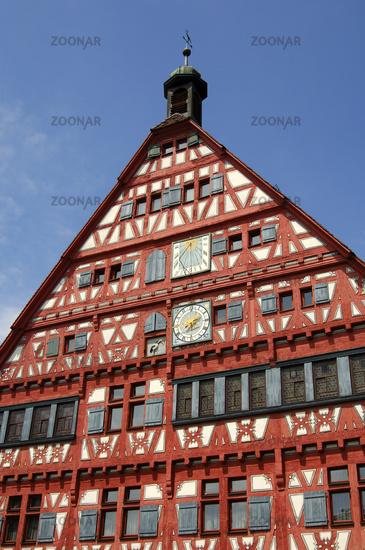 historial town hall of Grossbottwar, Germany