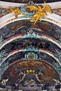 barocke Ausstattung der Stiftskirche St. Gallus und Otmar