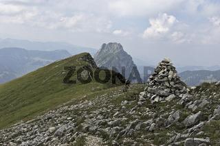 Gratwanderung Alpen