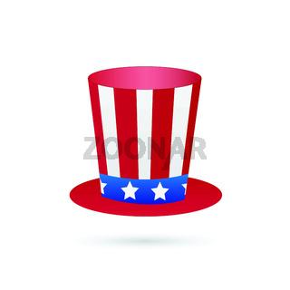 Uncle Sam Hat Illustration