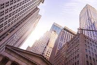 Financial District Highrise Buildings