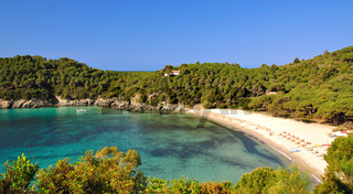 Strand von Fetovaia auf Elba