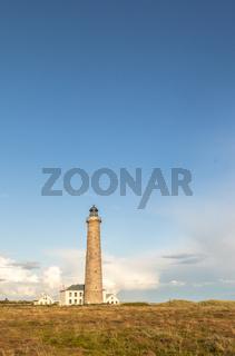 Lighthouse in Grenen, Denmark