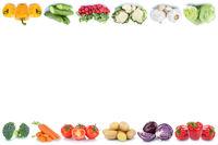 Gemüse Karotten Tomaten Paprika Salat Textfreiraum Copyspace Essen Freisteller