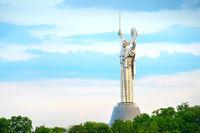 Mother Motherland monument. Kiev, Ukraine