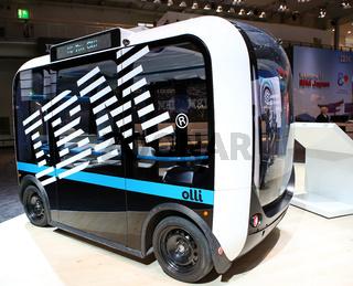 CeBIT 2017 - autonomes Fahren