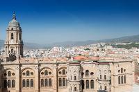 The Cathedral at Malaga