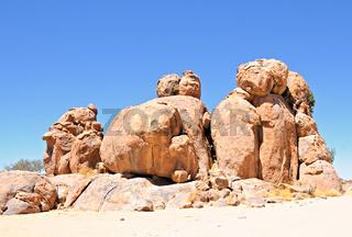 Felsformation Namibia