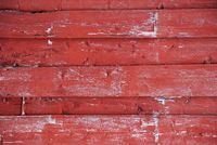 Red Wooden Background With Copy Space