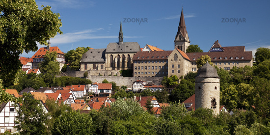 medieval old city of Warburg, East Westphalia, North Rhine-Westphalia, Germany, Europe