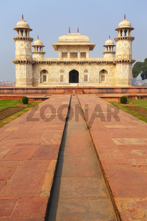 Tomb of Itimad-ud-Daulah in Agra, Uttar Pradesh, India