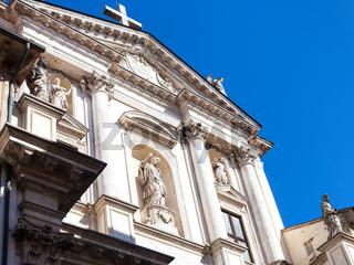 facade of church Chiesa di San Gateano Thiene
